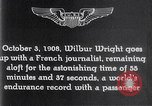 Image of Wilbur Wright France, 1908, second 54 stock footage video 65675040864