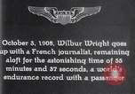 Image of Wilbur Wright France, 1908, second 56 stock footage video 65675040864