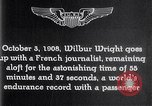 Image of Wilbur Wright France, 1908, second 57 stock footage video 65675040864