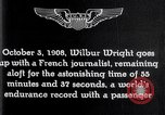 Image of Wilbur Wright France, 1908, second 58 stock footage video 65675040864