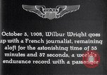 Image of Wilbur Wright France, 1908, second 59 stock footage video 65675040864