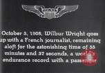 Image of Wilbur Wright France, 1908, second 60 stock footage video 65675040864