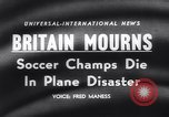 Image of Munich Air Disaster crash of flight 609 Munich Germany, 1958, second 16 stock footage video 65675040875