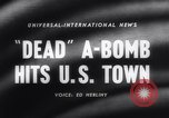 Image of atomic bomb accidentally dropped Florence South Carolina USA, 1958, second 3 stock footage video 65675040882