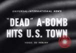Image of atomic bomb accidentally dropped Florence South Carolina USA, 1958, second 4 stock footage video 65675040882