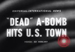 Image of atomic bomb accidentally dropped Florence South Carolina USA, 1958, second 5 stock footage video 65675040882