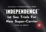 Image of USS Independence CV-62 New York City USA, 1959, second 17 stock footage video 65675040895