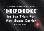 Image of USS Independence CV-62 New York City USA, 1959, second 18 stock footage video 65675040895