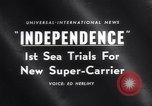 Image of USS Independence CV-62 New York City USA, 1959, second 19 stock footage video 65675040895