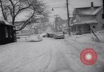 Image of snow Cleveland Ohio USA, 1962, second 19 stock footage video 65675040902