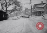 Image of snow Cleveland Ohio USA, 1962, second 20 stock footage video 65675040902