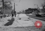 Image of snow Cleveland Ohio USA, 1962, second 25 stock footage video 65675040902