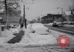Image of snow Cleveland Ohio USA, 1962, second 26 stock footage video 65675040902