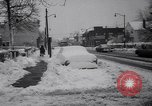 Image of snow Cleveland Ohio USA, 1962, second 27 stock footage video 65675040902