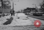 Image of snow Cleveland Ohio USA, 1962, second 28 stock footage video 65675040902