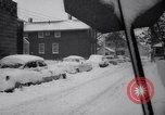 Image of snow Cleveland Ohio USA, 1962, second 29 stock footage video 65675040902