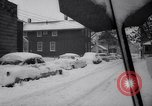 Image of snow Cleveland Ohio USA, 1962, second 31 stock footage video 65675040902