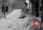 Image of snow Cleveland Ohio USA, 1962, second 37 stock footage video 65675040902