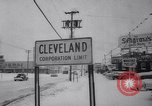 Image of snow Cleveland Ohio USA, 1962, second 41 stock footage video 65675040902
