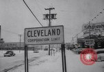 Image of snow Cleveland Ohio USA, 1962, second 42 stock footage video 65675040902