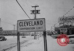 Image of snow Cleveland Ohio USA, 1962, second 43 stock footage video 65675040902
