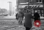 Image of snow Cleveland Ohio USA, 1962, second 47 stock footage video 65675040902