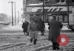 Image of snow Cleveland Ohio USA, 1962, second 48 stock footage video 65675040902