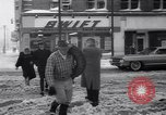 Image of snow Cleveland Ohio USA, 1962, second 49 stock footage video 65675040902