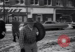 Image of snow Cleveland Ohio USA, 1962, second 50 stock footage video 65675040902