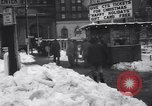 Image of snow Cleveland Ohio USA, 1962, second 52 stock footage video 65675040902