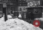 Image of snow Cleveland Ohio USA, 1962, second 53 stock footage video 65675040902