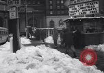 Image of snow Cleveland Ohio USA, 1962, second 54 stock footage video 65675040902
