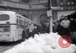 Image of snow Cleveland Ohio USA, 1962, second 55 stock footage video 65675040902