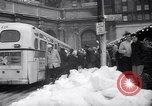 Image of snow Cleveland Ohio USA, 1962, second 56 stock footage video 65675040902