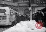 Image of snow Cleveland Ohio USA, 1962, second 57 stock footage video 65675040902
