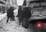 Image of snow Cleveland Ohio USA, 1962, second 58 stock footage video 65675040902