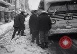Image of snow Cleveland Ohio USA, 1962, second 59 stock footage video 65675040902