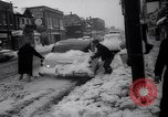 Image of snow Cleveland Ohio USA, 1962, second 61 stock footage video 65675040902