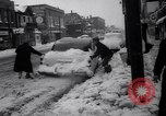 Image of snow Cleveland Ohio USA, 1962, second 62 stock footage video 65675040902
