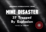 Image of Mine disaster Carmichaels Pennsylvania USA, 1962, second 1 stock footage video 65675040905