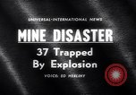 Image of Mine disaster Carmichaels Pennsylvania USA, 1962, second 3 stock footage video 65675040905