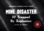 Image of Mine disaster Carmichaels Pennsylvania USA, 1962, second 4 stock footage video 65675040905