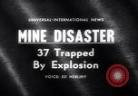 Image of Mine disaster Carmichaels Pennsylvania USA, 1962, second 5 stock footage video 65675040905