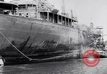 Image of Damaged ship Atlantic Coast, 1942, second 45 stock footage video 65675040908