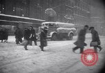 Image of Blizzard of 1947 New York City USA, 1947, second 27 stock footage video 65675040929