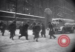 Image of Blizzard of 1947 New York City USA, 1947, second 28 stock footage video 65675040929