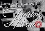 Image of Fashion Parade New York United States USA, 1956, second 3 stock footage video 65675040936