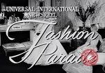 Image of Fashion Parade New York United States USA, 1956, second 4 stock footage video 65675040936