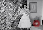 Image of Fashion Parade New York United States USA, 1956, second 7 stock footage video 65675040936