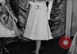 Image of Fashion Parade New York United States USA, 1956, second 18 stock footage video 65675040936